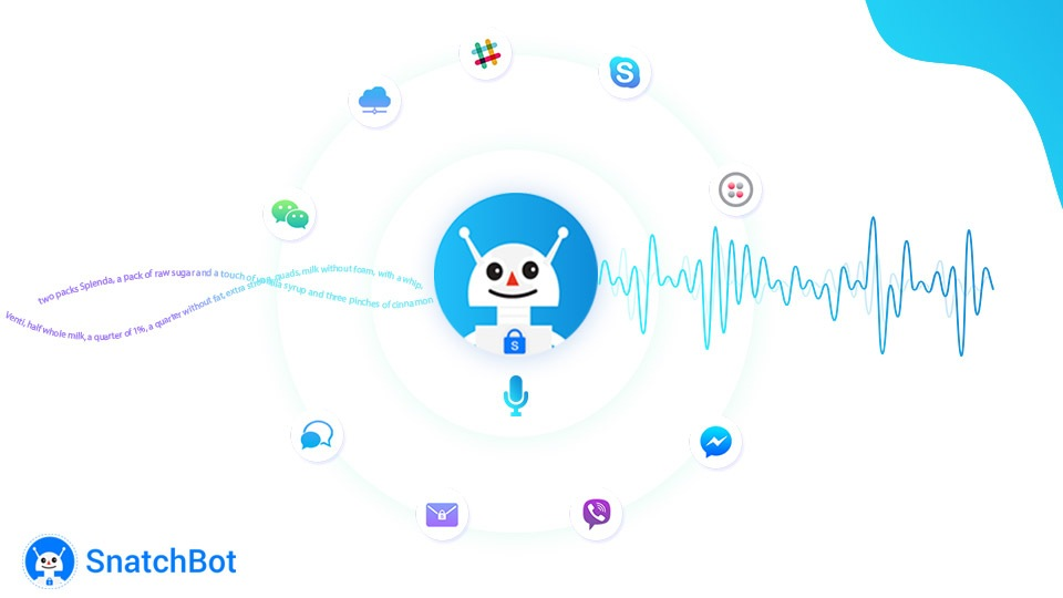 How SnatchBot voice chat improves user-experience