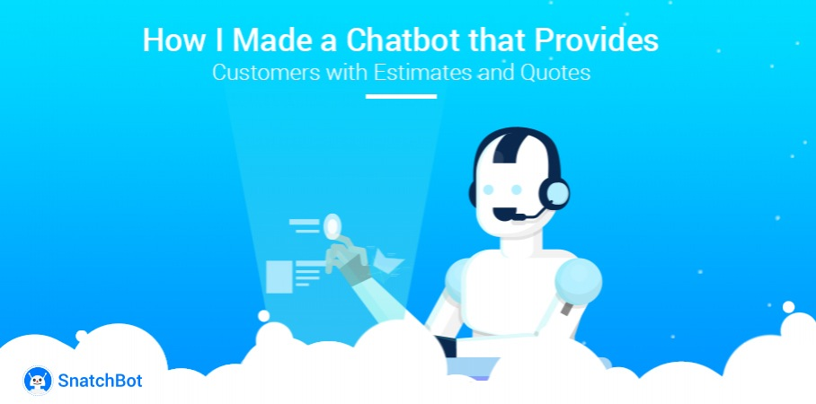 How I Made a Chatbot that Provides Customers with Estimates and Quotes