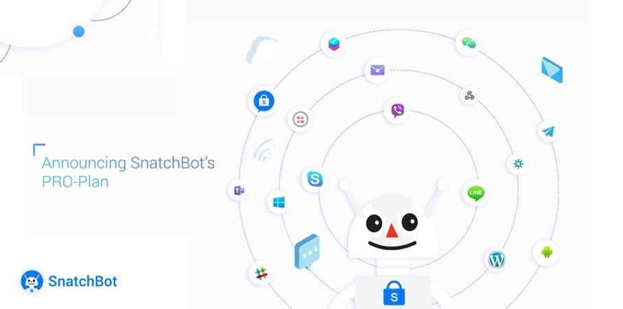 Announcing SnatchBot's PRO-Plan