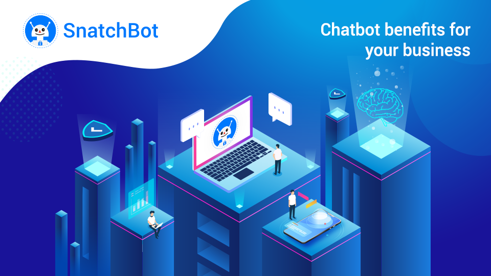 Top 8 chatbot benefits for your business