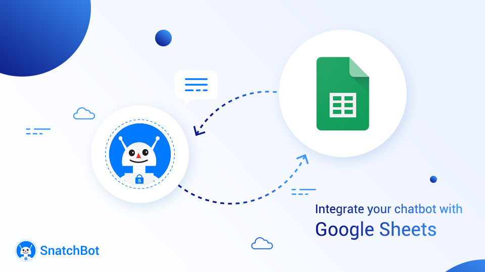 Integrate your chatbot with Google Sheets