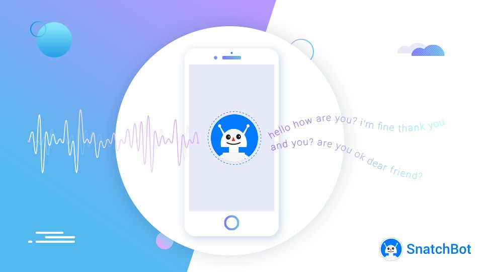 Give users a truly conversational experience with talking chatbots