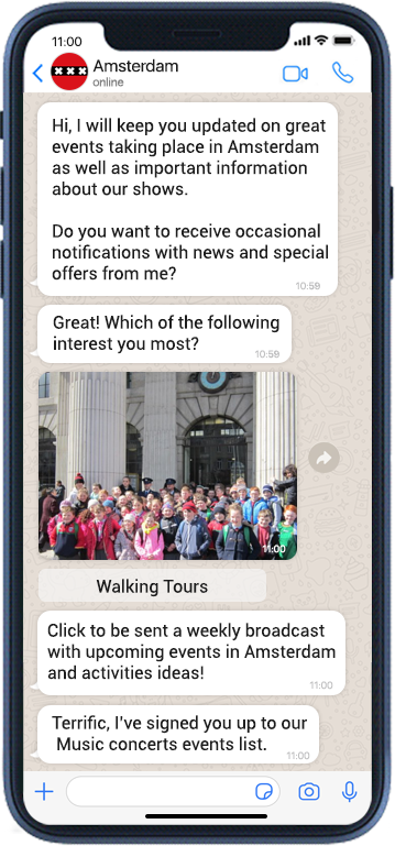 Chatbot Events