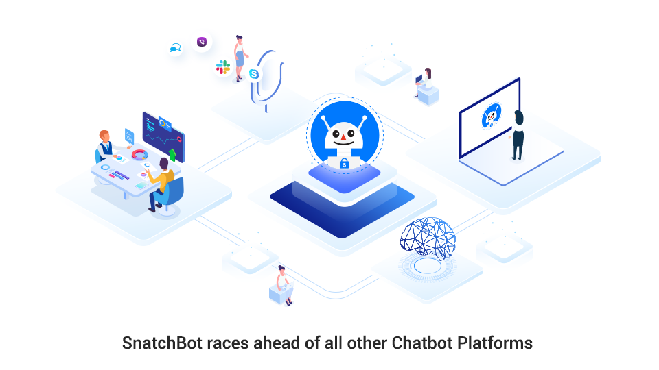 SnatchBot races ahead of all other Chatbot Platforms